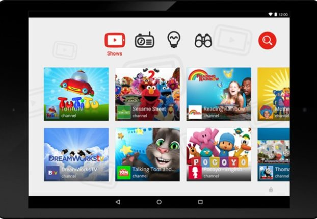 YouTube Kids видео для детей