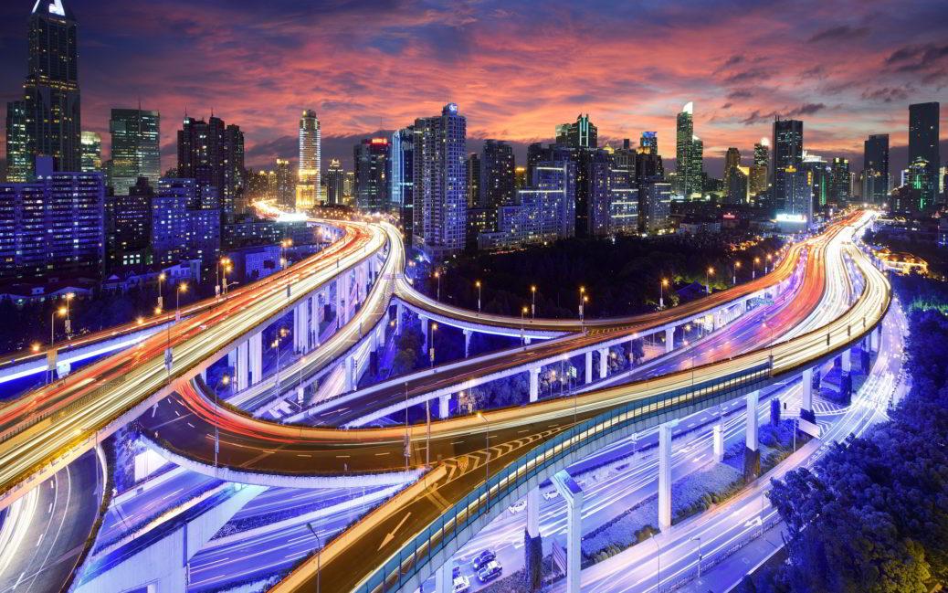 Гонконг архитектура ночь город страны  № 2229803 загрузить