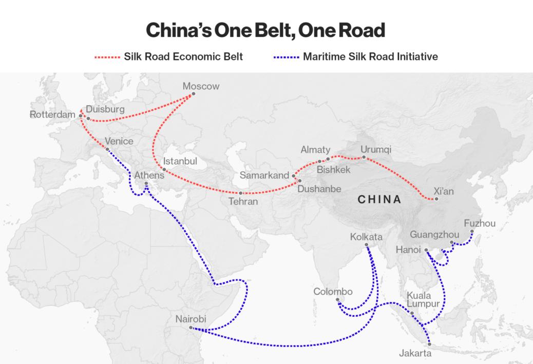 Картинки по запросу китайского проекта «Один пояс — один путь»