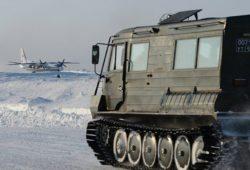 Россия протестировала новейшую военную технику в Арктике