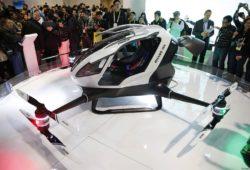 В Дубае уже летом начнёт работать беспилотное летающее такси