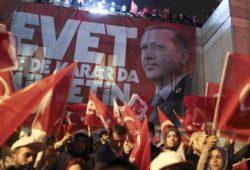 Эрдоган начал строить «вертикаль власти» в Турции