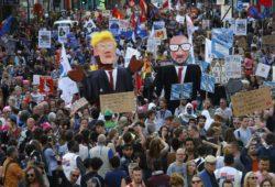 Жители Брюсселя не пускают Трампа на саммит НАТО