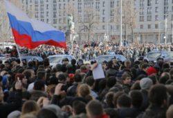 Россия отметила праздник антикоррупционными митингами