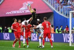 Россия открыла Кубок конфедераций победой в стартовом матче