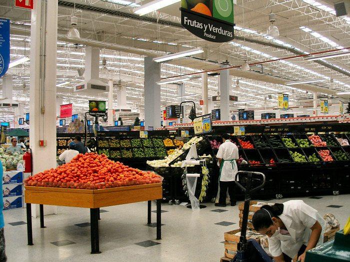 Walmart сеть магазинов