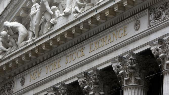 Фондовый рынок Нью-Йорк