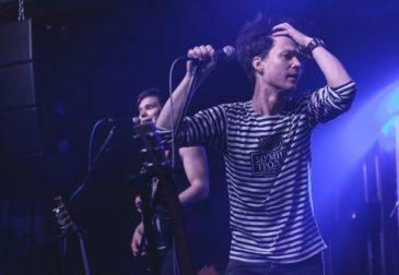 Группа Чайка на сцене Мумий Тролль