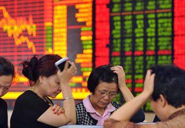 Китайские акции пустились в дикий пляс: экономический спад усиливается