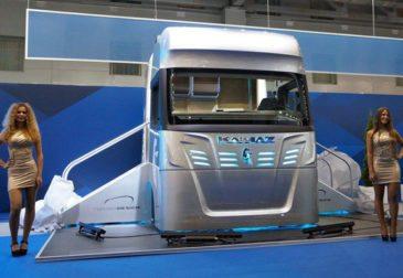 КамАЗ представил концепт новой кабины