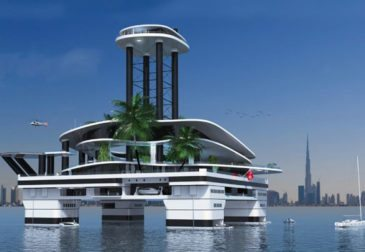 Monaco Yacht Show 2015: Плавающий остров