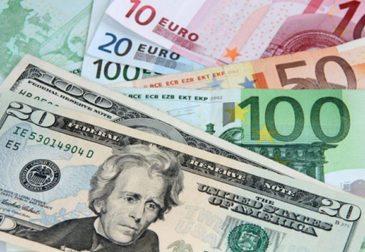 Валютный паритет доллара к евро, прогноз от Principal Global Investors