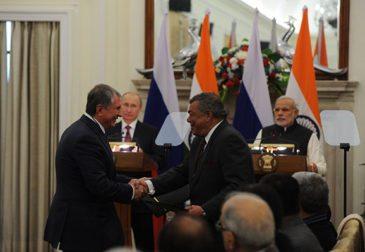 «Роснефть» продаёт 20% акций индийской компании