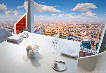 Самый высокий ресторан Европы