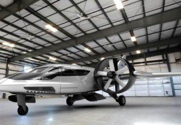 Летающие автомобили от создателя Гугл
