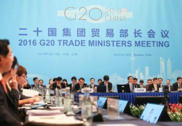 В Шанхае состоялась встреча министров торговли G20