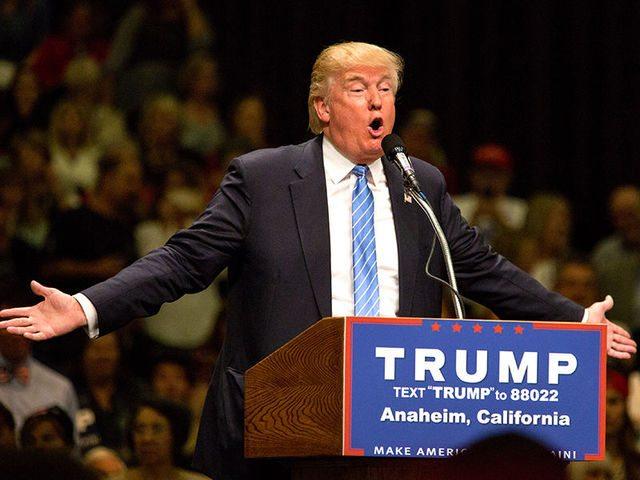Кандидат от Республиканской Партии США Дональд Трамп. Фото: newsru.com