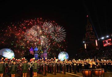 «Спасская башня»: международный военно-музыкальный фестиваль
