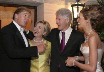 Связь кандидатов в президенты США с Россией