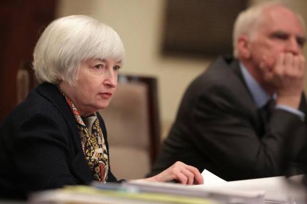 Руководитель ФРС США Джанет Йеллен