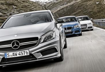 Автовладельцы выбрали свой фаворит среди Mercedes-Benz, BMW и Audi