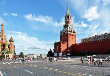 Москва впервые вошла в десятку лучших туристических городов мира