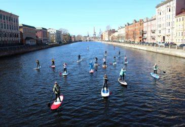 Впервые в Петербурге — фестиваль SUP-серфинга
