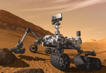 Американский марсоход обнаружил на Марсе «железное яйцо»