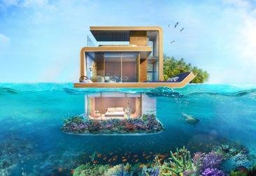 Новое архитектурное решение в Дубае. От поднебесного Бурдж-Халифа к подводным рифам