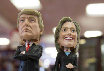 Кто же станет 45-м президентом Америки?