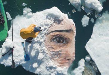 Невероятные портреты на льду — баланс между природой и искусством