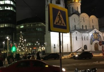 Эксклюзивные фото: в центре Москвы стилист Алиса Тацки насмерть сбила мужчину
