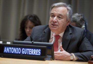 Новый генсек ООН Антониу Гутерриш призвал мир к миру