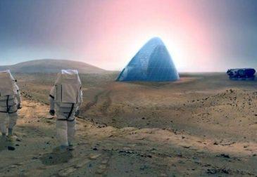 На Марсе построят первые дома для колонизаторов