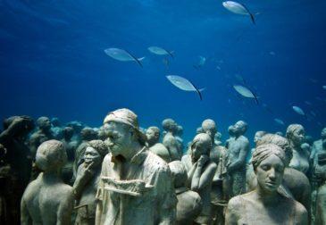 Museo Atlántico: первый подводный музей в Европе