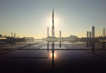 В Токио воздвигнут небоскреб высотой 1600 метров