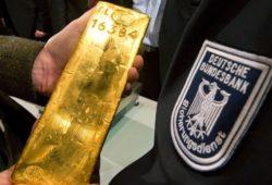 Германия вернула часть хранившегося в США золота