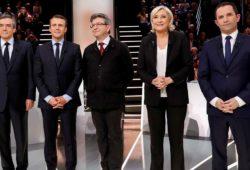 Макрон лидирует среди кандидатов в президенты Франции после дебатов