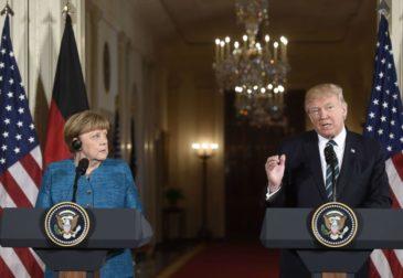 Трамп выставил Меркель счет на $375 млрд за услуги НАТО