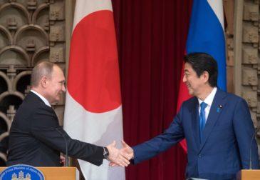 Путин и Абэ поделили Курилы