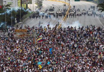 Глава Венесуэлы просит ООН спасти страну от разрухи