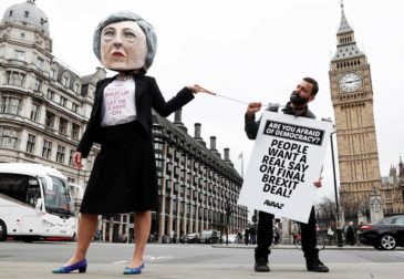 Тереза Мэй объявила о роспуске парламента Великобритании
