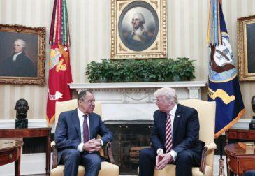 В Белом доме прошла встреча Трампа и Лаврова