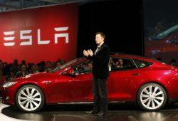 Первый в Китае завод электромобилей.Тесла Моторс