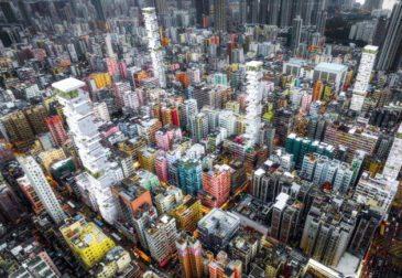 Вертикальный город – Гонконг