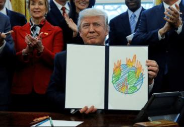 Весь мир осудил Трампа за выход из Парижского соглашения