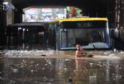 Повышение уровня воды в Китае мешает росту городов