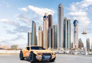Абу-Даби – город, одержимый суперкарами