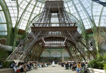 Chanel под Эйфелевой башней в Гран-Пале