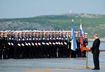 Российский флот усиливает свои позиции на международной арене